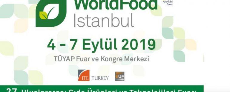 المعرض العالمي للغذاء WorldFood 2019 في اسطنبول