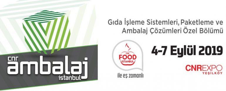 معرض تكنولوجيا التعبئة والتغليف Ambalaj 2019 في اسطنبول